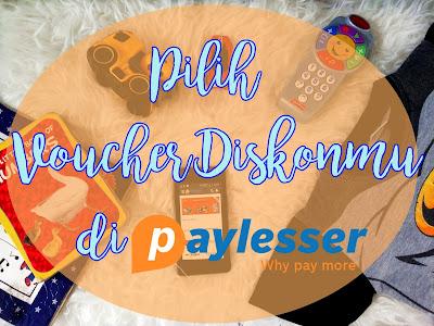 Voucher diskon Paylesser Indonesia
