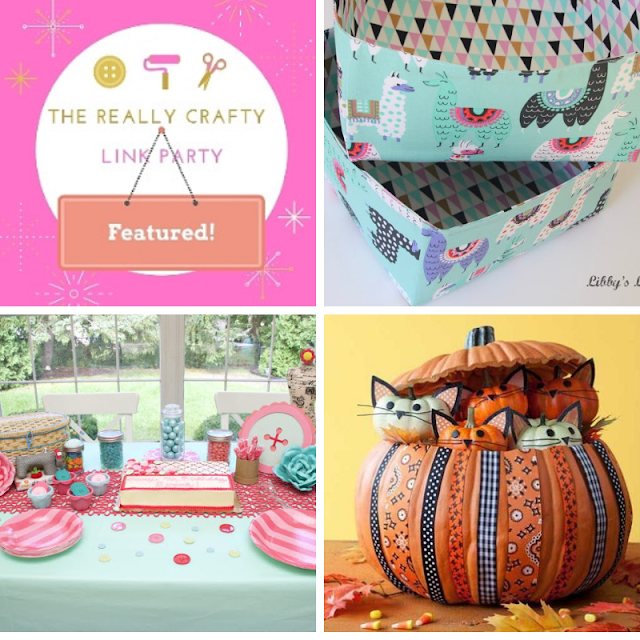 The Really Crafty Link Party #135 featured posts