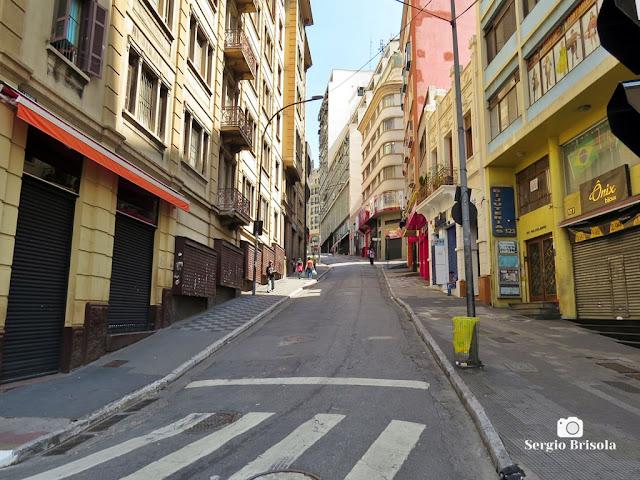 Ladeira Porto Geral durante a quarentena - São Paulo