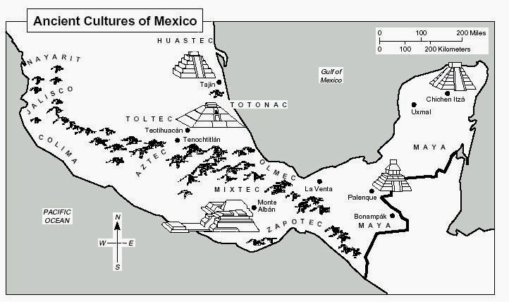 Halsey S History Haven World History Assignment 1 Mesoamerica Map