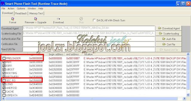 how to flash  Advan S5E-5001 Build Number: S18(LT)-V1.1-J.B 4.2.2 tested