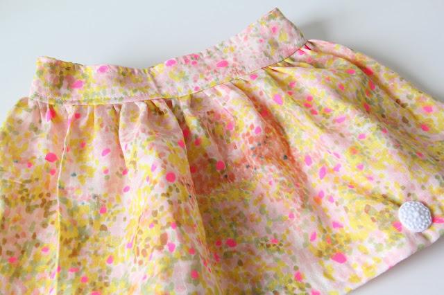 Cross and Woods, Gemaakt/ DIY, meisje, naaien, Simpel rokje, Studio Mojo, zelf een rokje maken,