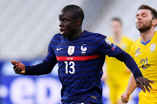 N'Golo Kante to return to Chelsea today