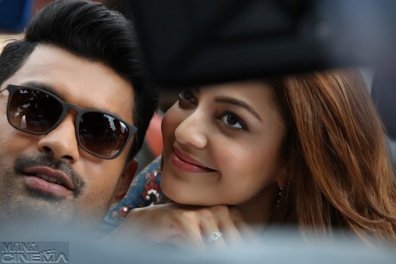 Kajal Agarwal Unseen Photos in MLA Movie