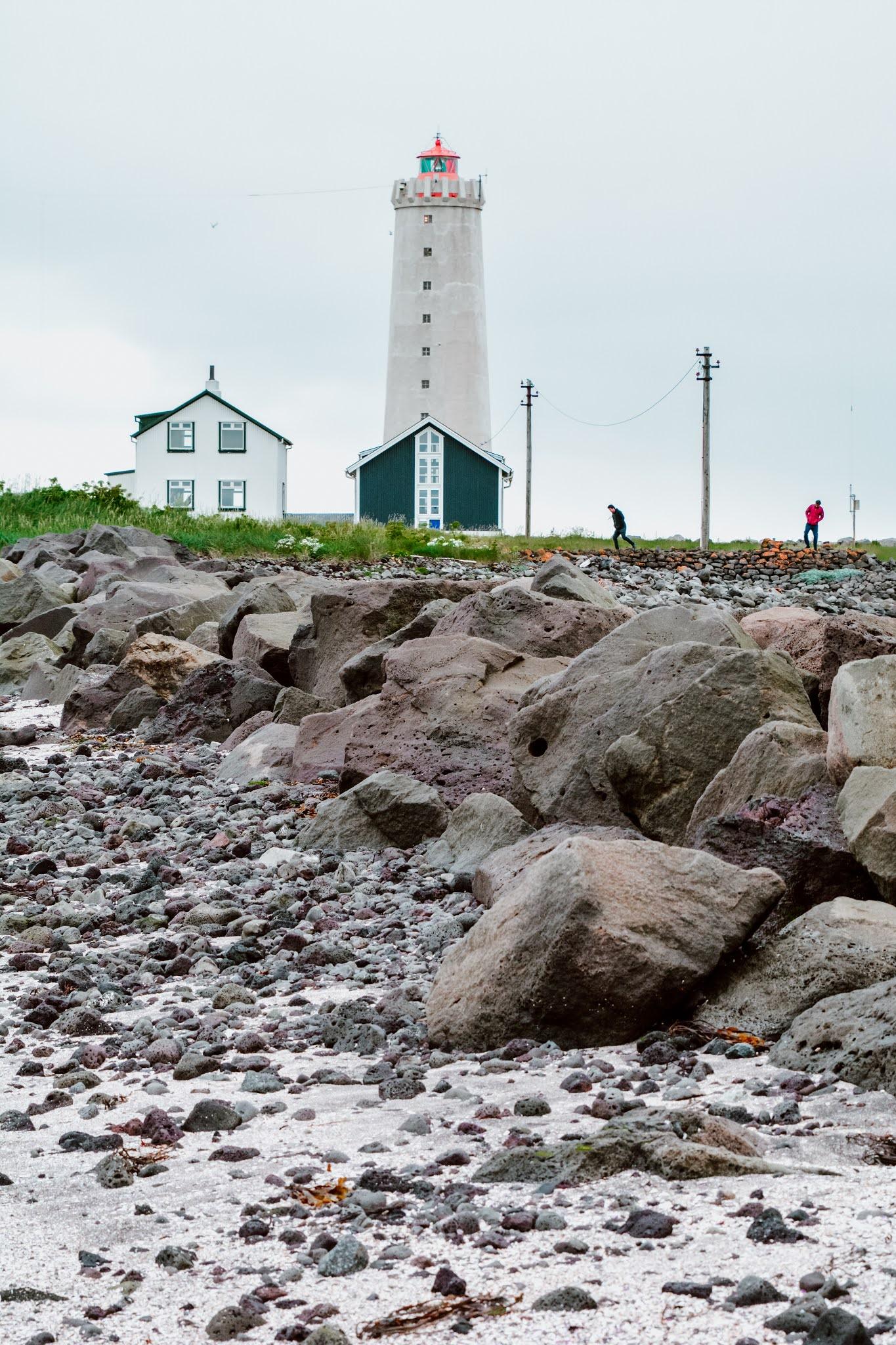 Grotta Lighthouse Iceland