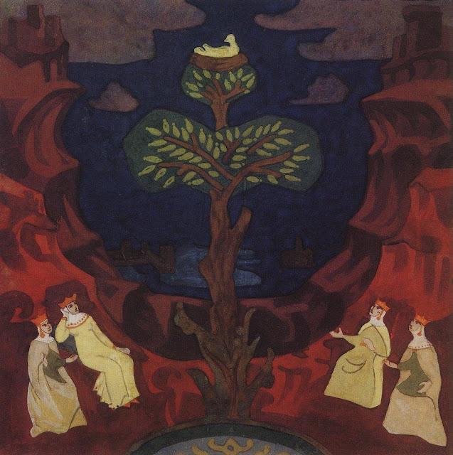Николай Рерих - Гнездо преблагое