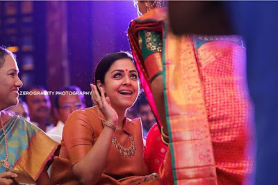 Jyothika-at-wedding-ceremony-latest-cute-gorgeous-pics
