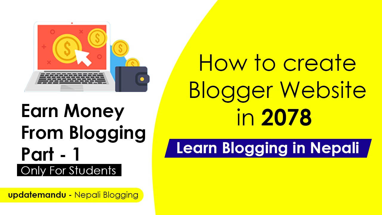 How to Start Blogging in Nepal in 2078 ??