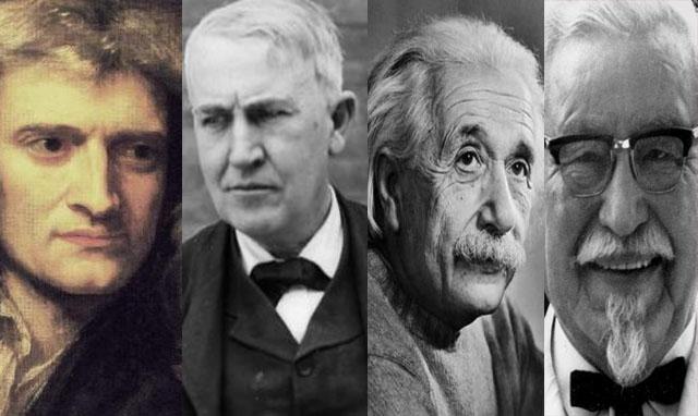 10 شخصيات عالمية بدايتهم كانت فاشلة