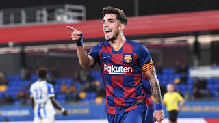 Barcelona happy with Barca B Captain Monchu Progress but loan remains on cards