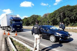 Eleições 2020: PRF inicia operação nas rodovias federais da Paraíba