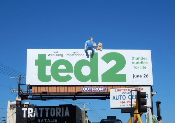 Ted 2 special extension movie billboard