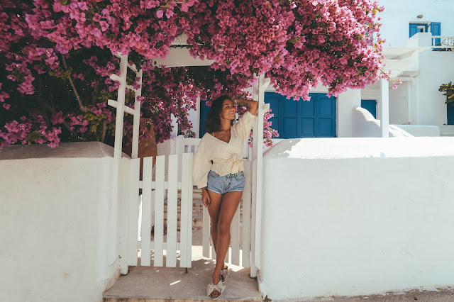 Letni #OOTD  Mykonos - Czytaj więcej