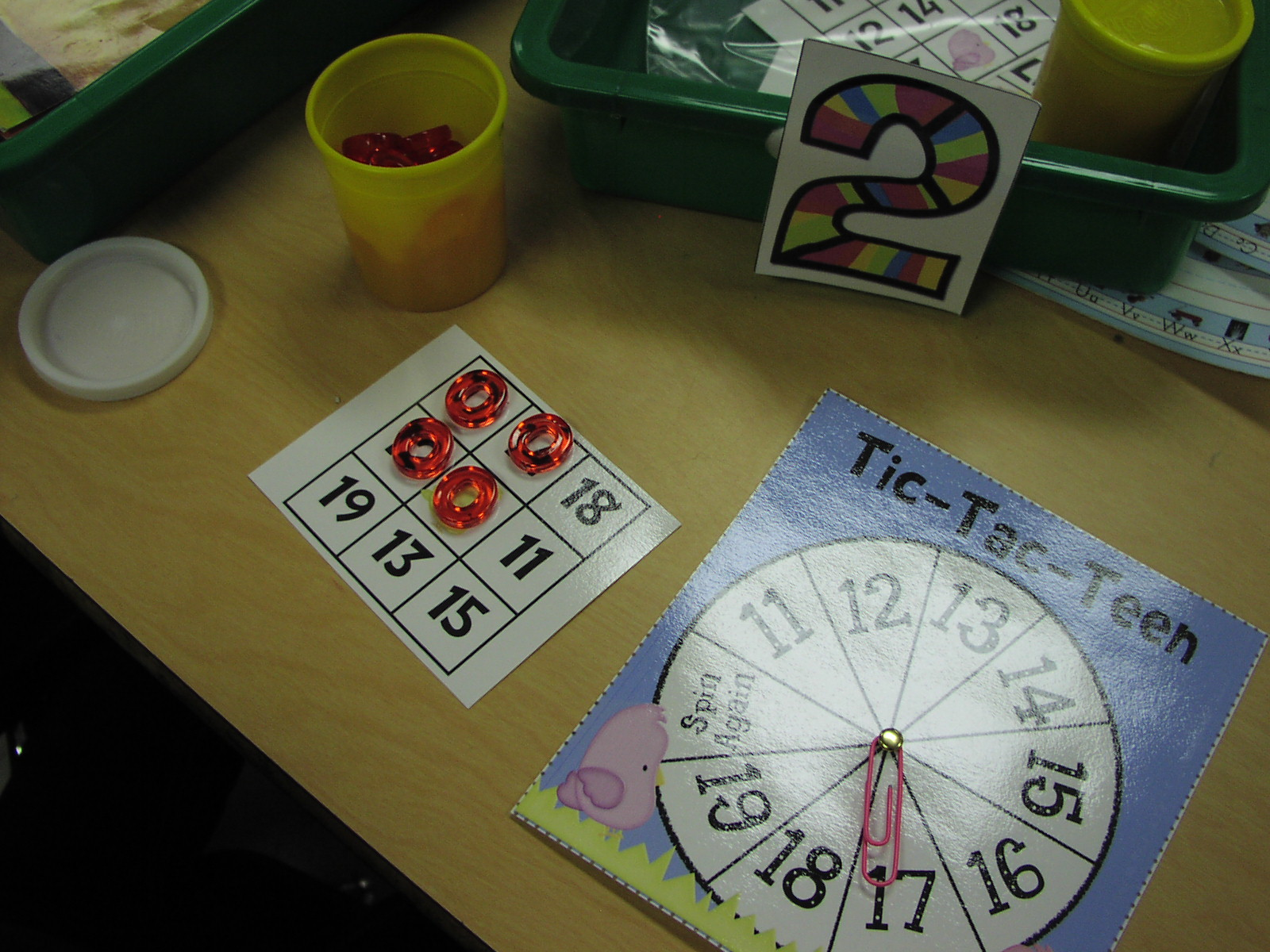 Keen On Kindergarten More January Math Stations