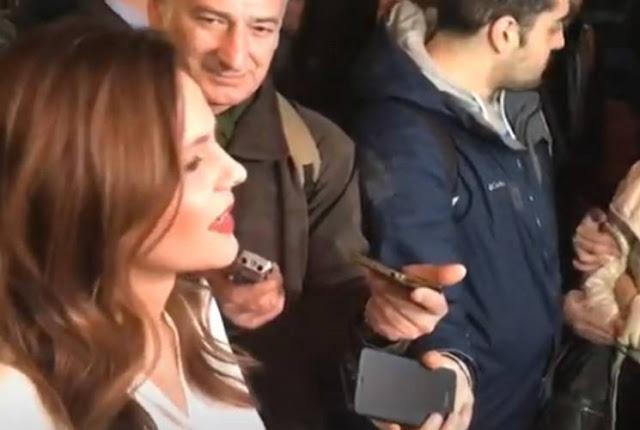 Επίθεση στην Αχτσιόγλου: Ντροπή σας, είστε προδότες, η Μακεδονία θα εκδικηθεί