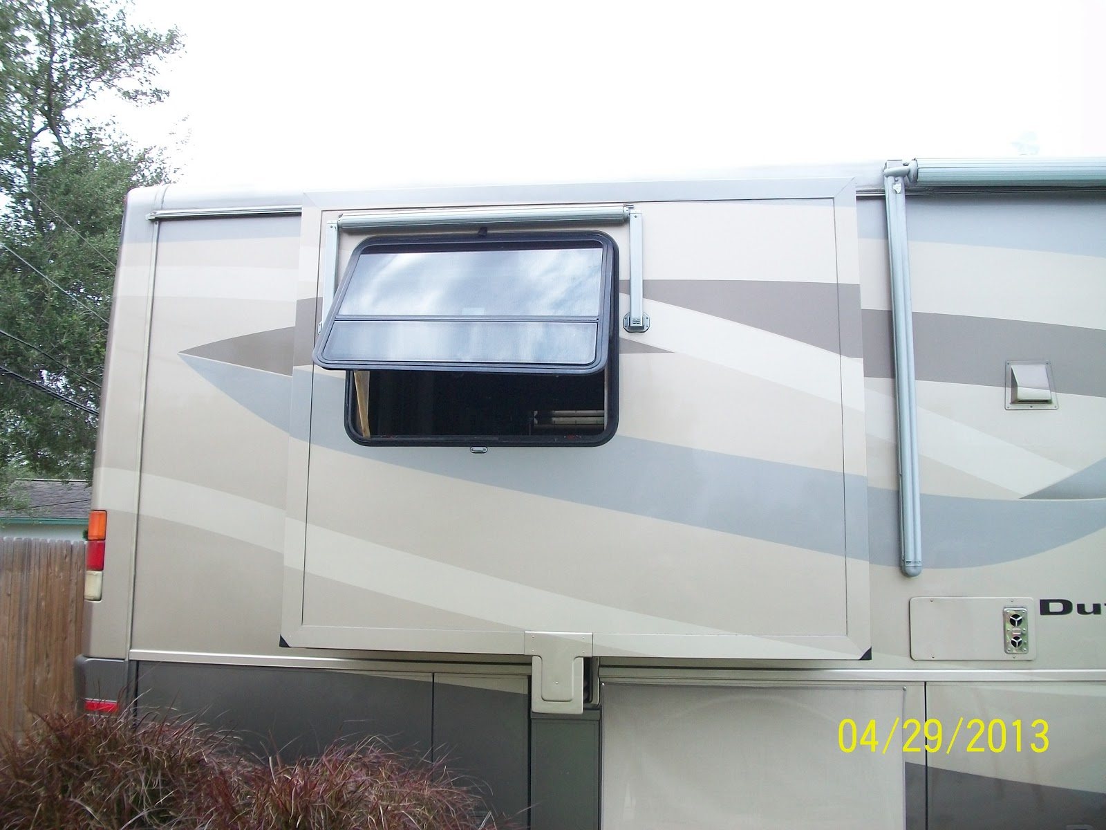The Sayre Rv Odyssey Emergency Escape Window Test