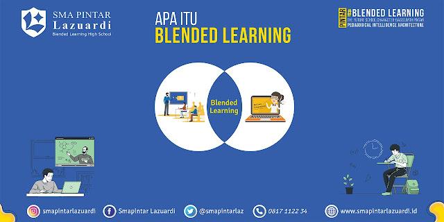 mengenal SMA PINTAR Lazuardi yang menerapkan blended learning