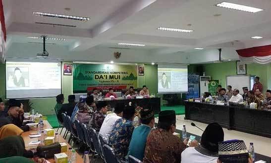 Para Dai yang Suka Nongol di TV Ikuti Standardisasi Kompetensi Dai MUI