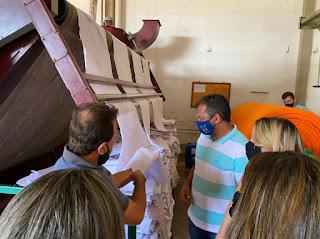Prefeito de Catingueira visita fábricas e é recebido por empresários de Itaporanga
