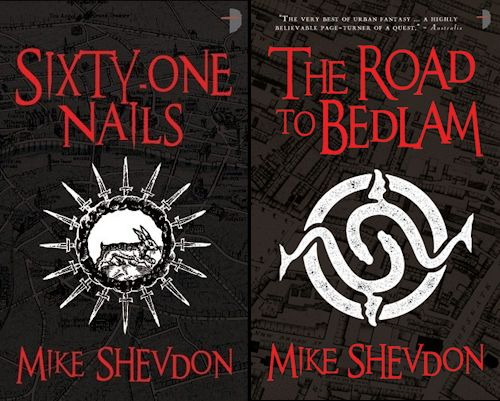 Interview with Mike Shevdon and Giveaway - May 26, 2012