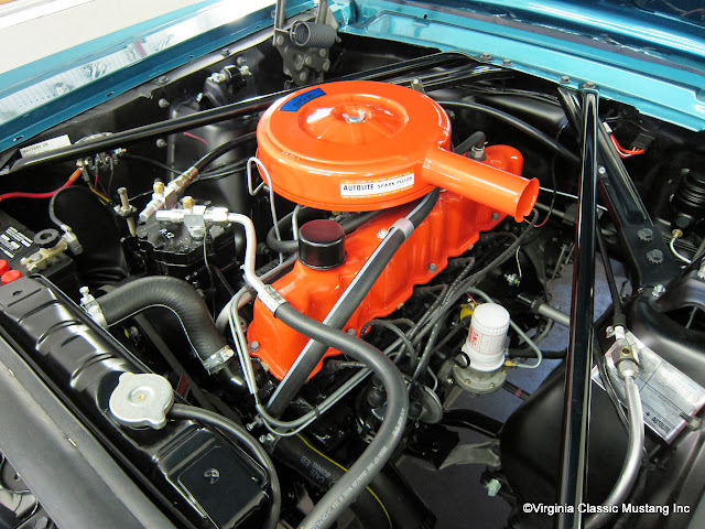 Maple Hill Auto >> Virginia Classic Mustang Blog: Just the Details...1965 ...