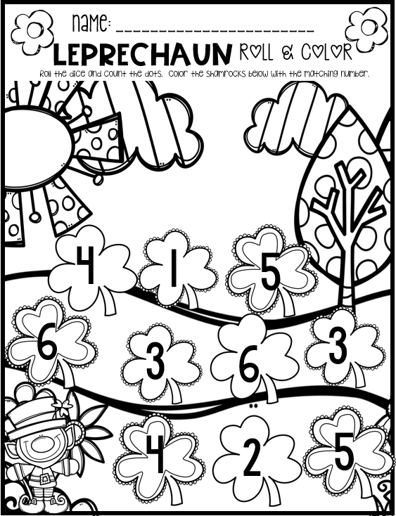 Little Giggles and Wiggles: Spring Math and Literacy