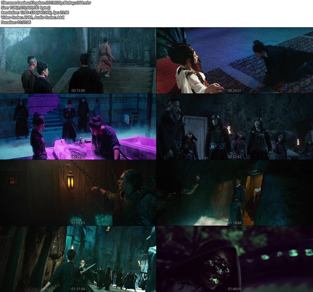 Lawless Kingdom 2013 720p BluRay   480p 300MB   100MB HEVC x264 Screenshot