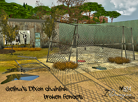 broken chain link fence png. Gelina\u0027s Dixon Chainlink Broken Fences I Had Shared A Version Of These Before, But Today Bring You The Them. Chain Link Fence Png