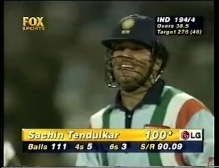 Sachin Tendulkar 142 vs Australia | 14th ODI Hundred Highlights