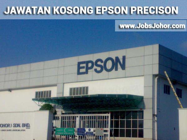 Jawatan Kosong Epson Precision Johor Sdn Bhd - Temuduga Terbuka 2016