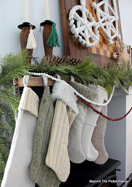 DIY Stockings Made From Thrift Store Finds
