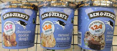 Ben & Jerry's light ice creams