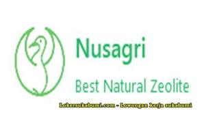 Lowongan Kerja NUSAGRI (Nusantara Agritech) Cianjur