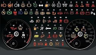 Lampu Indikator Dashboard