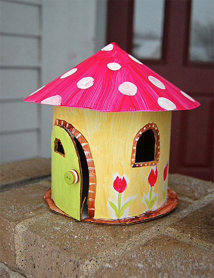 Fun Mushrooms From Recycled Cardboard Easy Craft Idea