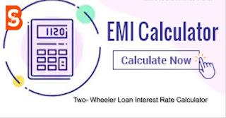 EMI Calculator For Loans, Car Loan , Home loan interest calculator