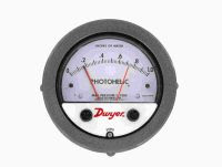 Dwyer Series 3000MR/3000MRS Photohelic® Switch/Gage