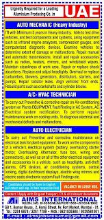 Aluminium Producing Company jobs in UAE