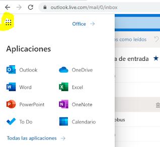 Usar Offices desde tu correo