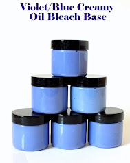 new....VIOLET/Blue Tinted Creamy Oil Bleach Base for Our Kit