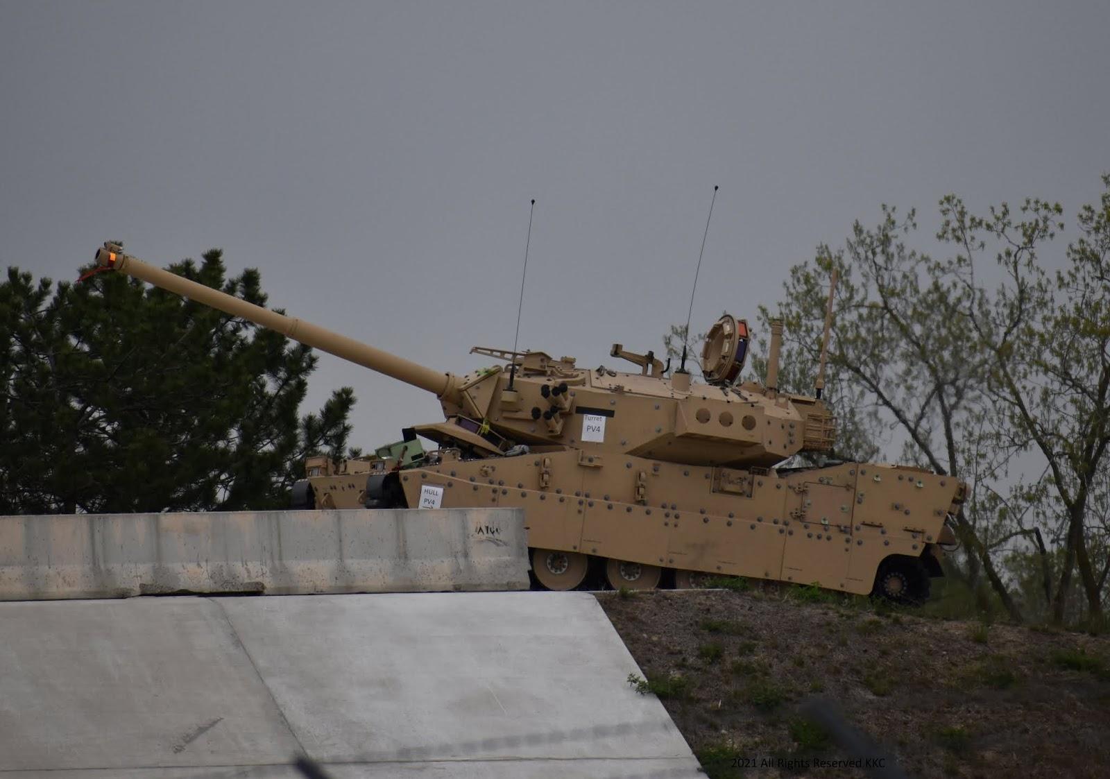 Протип американського легкого танка MPF від BAE Systems