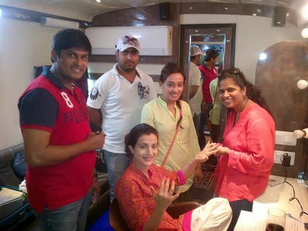 Amisha Patel Shooting Pics From Desi Magic
