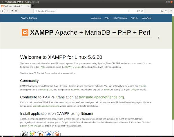 XAMPP localhost