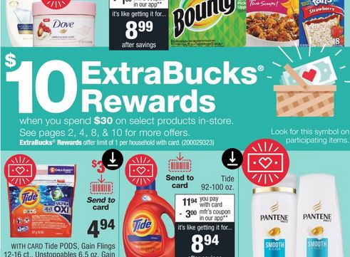 13 Different P&G Extrabuck Coupon Deals ideas at CVS