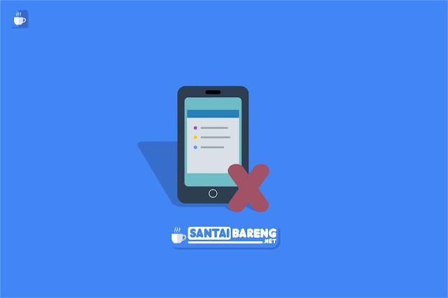 Cara Menonaktifkan Widget Blog di Tampilan Versi Mobile