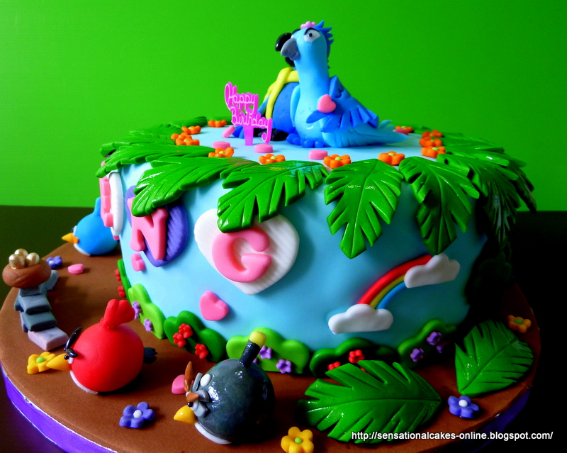 The Sensational Cakes Rio 3d Cake Singapore A Birds