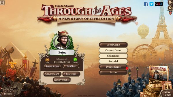 Through the Ages PC Full Español
