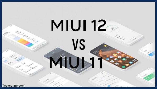 MIUI 11 ضد MIUI 12: مقارنة جديد الواجهة