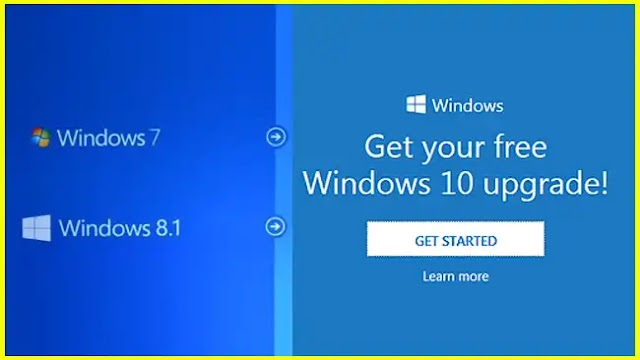 Free upgrade to Windows 10 for Windows 7 SP1 and 8.1 users
