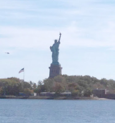 Statue of Liberty in Liberty Park - New York